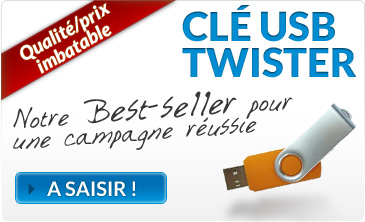 Cle USB Twister