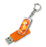 orange - Clé usb personnalisable